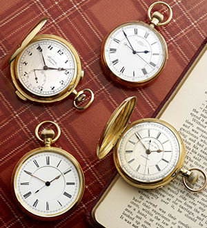 Hammer Price Highlights: Pocket Watches & Accessories, 23rd February 2015